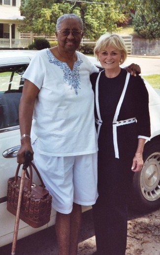 Kitty Kelley and Katharine Esters in 2007