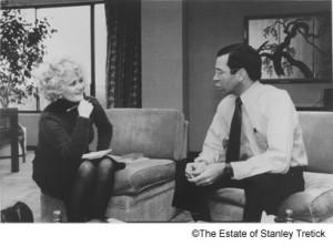 Kitty Kelley and Frank Sinatra Jr.