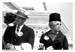 4 - For web posting - NAACP at March on Washington - Copyright Estate of Stanley Tretick